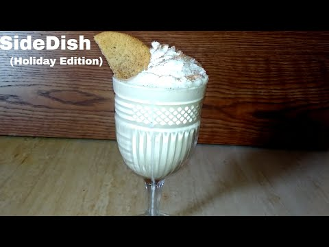 SideDish: Eggnog Milkshake (Holiday Edition)