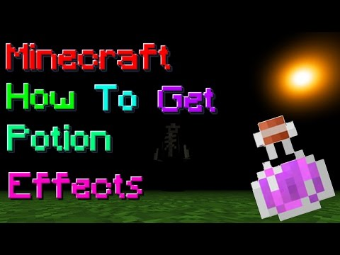 Minecraft | Potion Effect Commands AND Id!!!