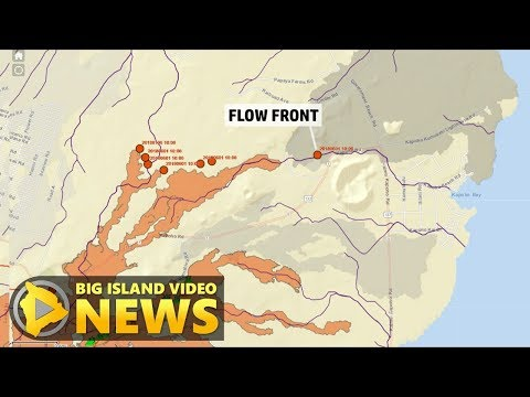 Hawaii Volcano Eruption Update - Friday Noon (June 1, 2018)