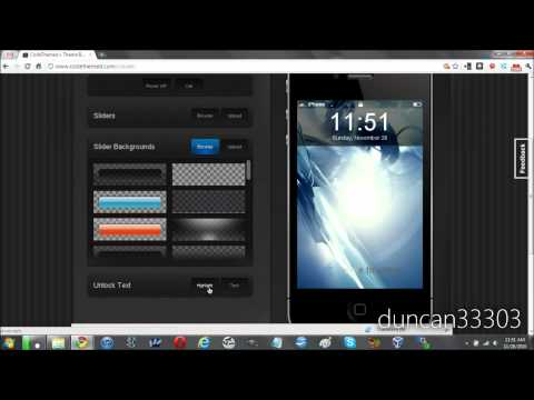 Create and Upload a Winterboard Theme to Cydia Easily