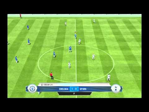 Fifa 13 Full Gameplay PC (HD) Chelsea - Tottenham Hotspurs (First Half)