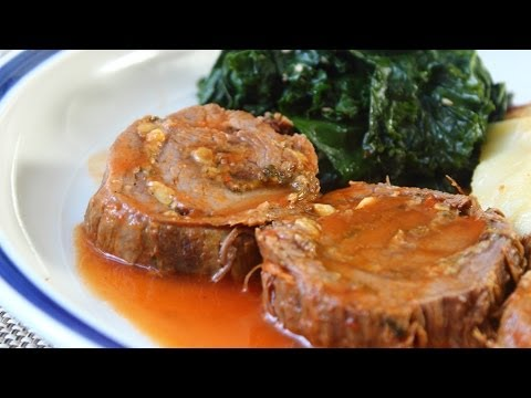 Flank Steak Roulade Experiment - Stuffed & Rolled Beef Flank Steak Recipe