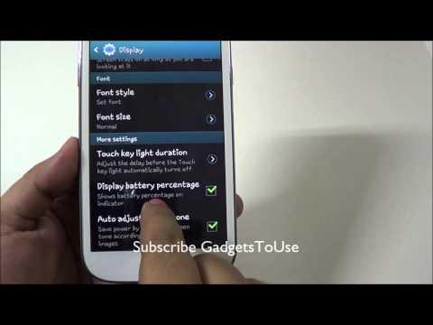 Samsung Galaxy Grand Battery Saving Tips and Tricks - Increase Battery Life