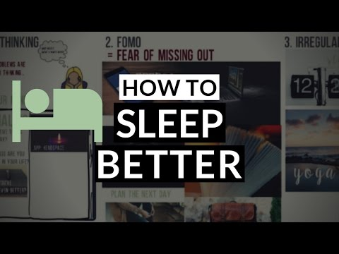 How to Sleep Better at Night and Fall Asleep Fast | Night Routine Tips 2017