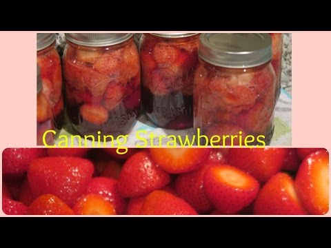 HOME CANNED STRAWBERRIES