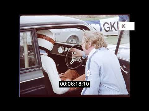Early 1970s Learner Racing Driver, Thruxton UK, HD | Kinolibrary