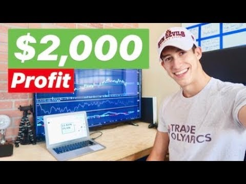 $2,000 Profit Day With 2 Stocks In May 2018