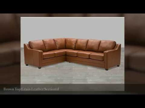 Buy Leather Sofas and Leather Sectionals from Silver Coast Company