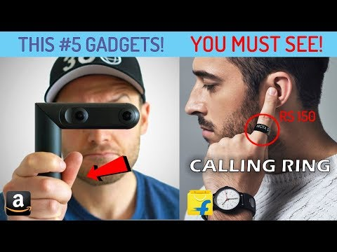 #5 New Technology Gadgets in India You Can Buy On Amazon 🚀 AMAZING SCIENCE GADGETS INVENTION 2018