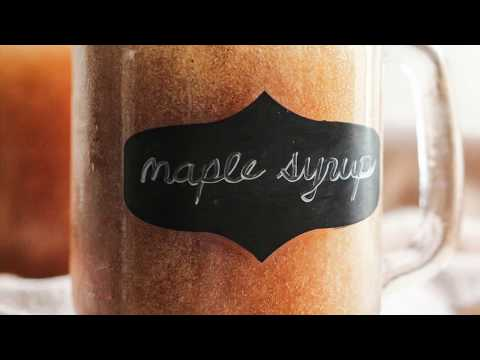 2-Calorie Homemade Maple Syrup (sugar free, low carb, vegan)