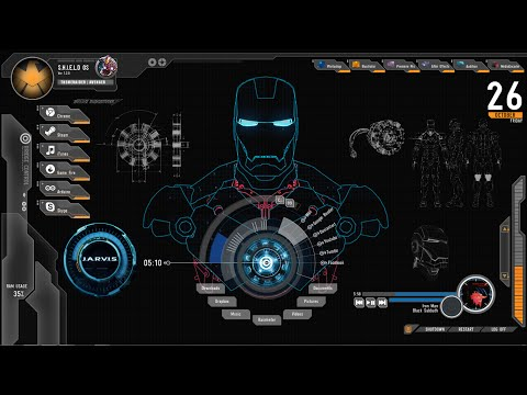 How to Install The Jarvis (Iron Man) Theme on Windows 8 /  Windows 10