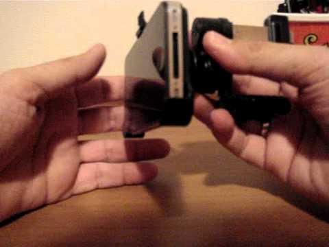 Suporte Veicular do iPhone 4 para usa-lo como GPS