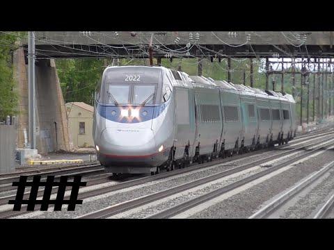 Amtrak Acela Express at Princeton Junction Station