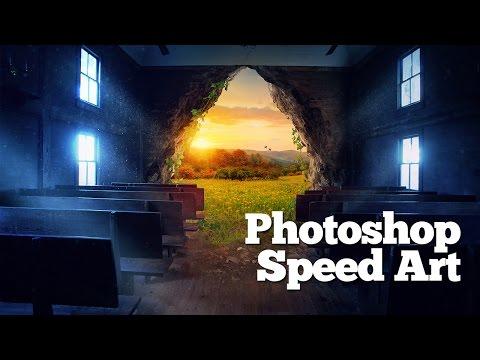 Photoshop Speed Art - Empty church