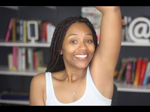 How To Naturally Lighten Underarms | Waxing Demo