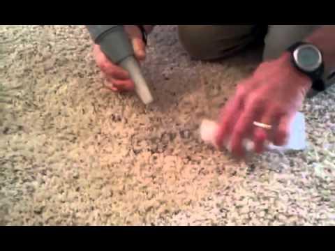 B&R Chem-Dry Removing BLACK Oil Based High Gloss Paint Salt
