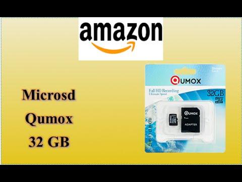 Amazon unboxing acquisti - Microsd Qumox 32gb