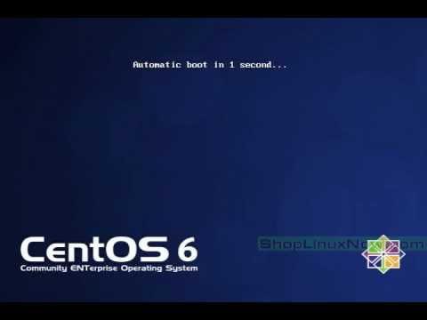 Booting CentOS