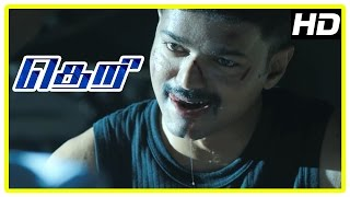 Theri Movie | Vijay - Mahendran Mass scene | Samantha | Amy Jackson | Rajendran | Baby Nainika