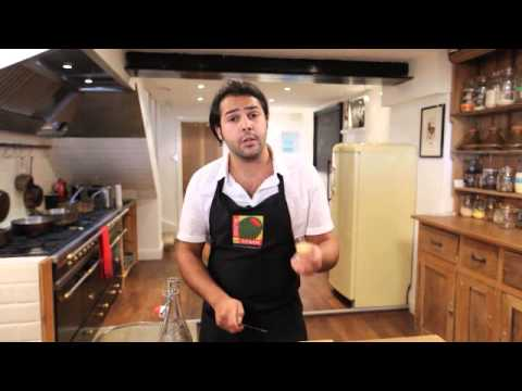 Omar Allibhoy's One Minute Marinades: Spanish Olives Marinated in Ginger, Cinnamon and Cardamom