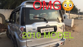 Scorpio 2010 modified into 2019 only in 3lakh