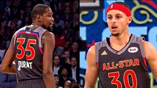 Warriors 2017 All-Star Game Statlights ( K. Durant, S. Curry, D. Green & K. Thompson)