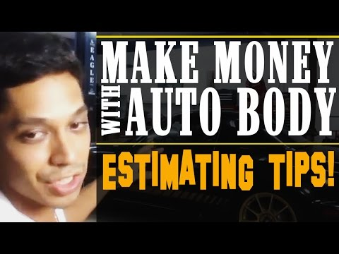Make Money With Auto Body and Paint   Estimating Tips!