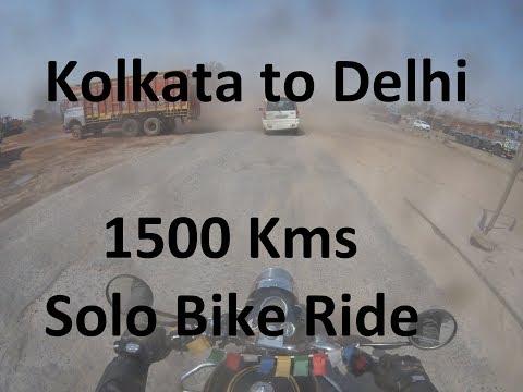 Kolkata to Delhi Solo Bike Ride | Royal Enfield Standard 350