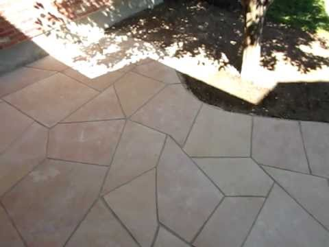 Flagstone Installation How to install a flagstone patio Part 2