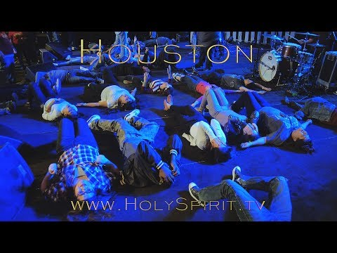 Fire of the Holy Spirit falling upon youth in Houston, Texas!!