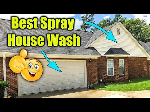 House Wash Mold and Mildew Cleaner
