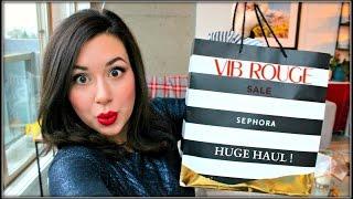 HUGE SEPHORA HAUL | 2015 VIB Sale Info