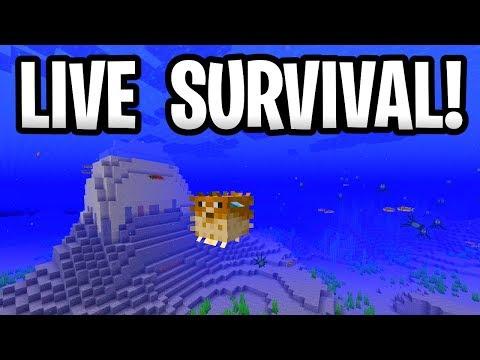 Minecraft Update Aquatic Survival! Ocean Adventures Live! Xbox One, PE & Windows 10
