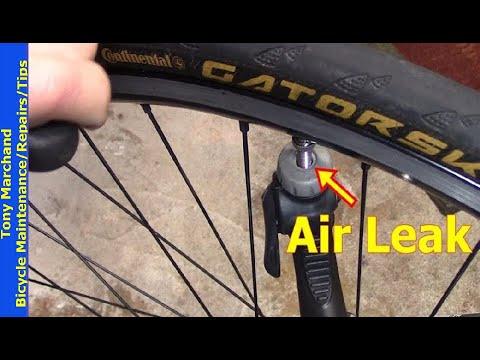 Leaking Bicycle Pump Head at valve: Quick Repair