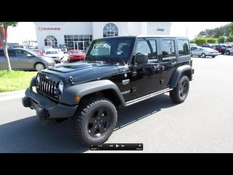 2012 Jeep Wrangler Unlimited Call of Duty MW3 Limited Edition Start Up, Exhaust, and In Depth Review