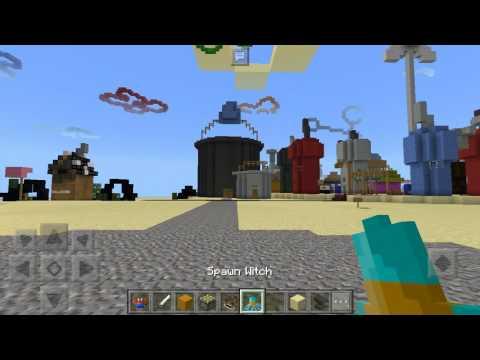 Minecraft PE sponge mod and map