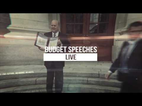 The Budget 2017 | RTÉ One | Coverage Starts 12.40 Tuesday October 11th