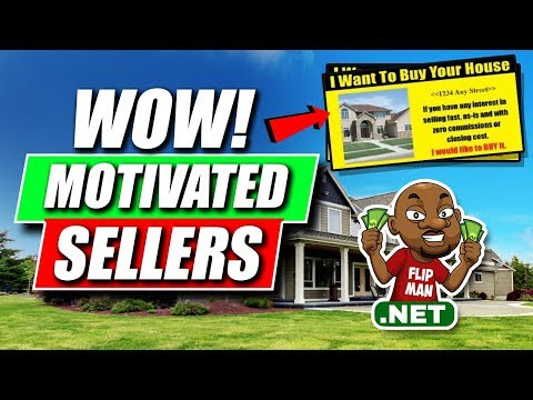 Wow Motivated Sellers With Photos on Postcards and Yellow Letters | Wholesaling and Flipping Houses