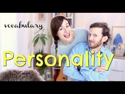 Vocabulario: PERSONALITY  - Clase de inglés - adjetivos de personalidad en inglés
