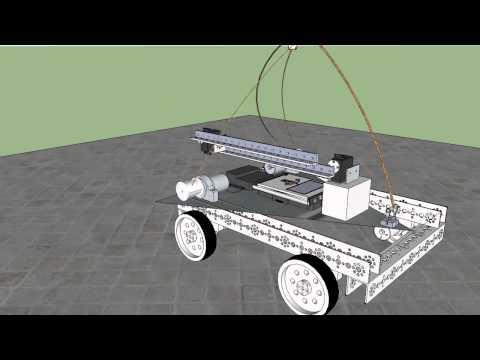 SAAS Robotics Lifting Arm Early Design