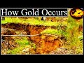 How Natural Gold Occurs Documentary Video