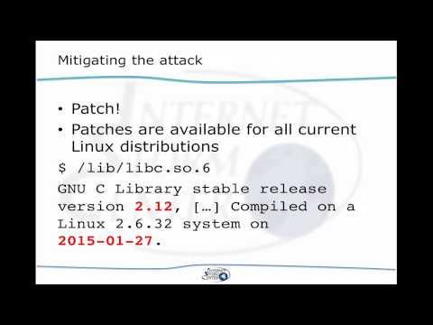 GHOST glibc gethostbyname() vulnerability CVE-2015-0235