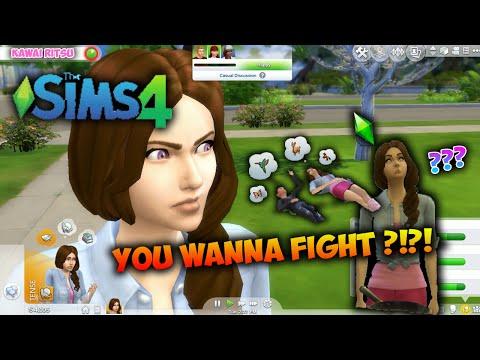 Baru Datang Ke Kota Udah Rusuh , Ngakak & Tertawa XDDD - The Sims 4 #1