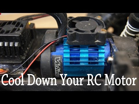 How to Cool Down Brushless RC Car Motor
