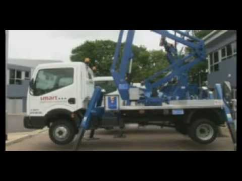 Self Drive Rental Truck Mount Cherry Picker from Smart Platform Rental Ltd