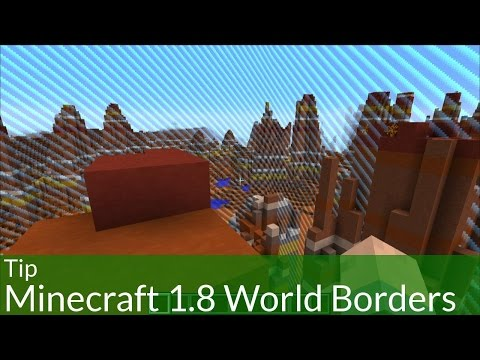 Tip: How to Use Minecraft 1.8 World Borders