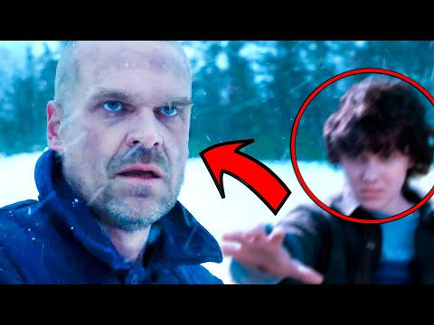 Hopper Esta VIVO | Stranger Things trailer Temporada 4 REVELADA!!
