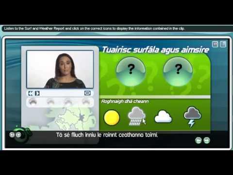BBC learning,4,An Aimsir, The Weather  as Gaeilge, In Irish,BBC Language Games