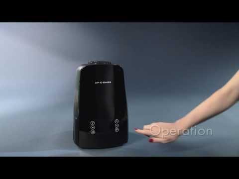 Ultrasonic Humidifier U650: Operation video of BONECO healthy air