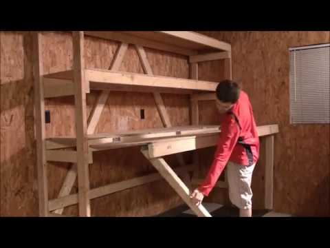How to build your own DIY garage shelves
